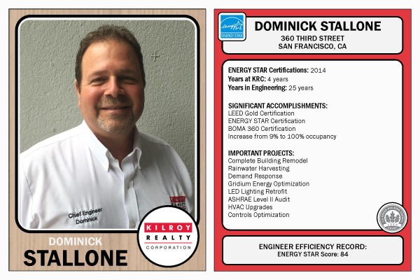 Engineer Baseball Cards - Dominick